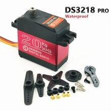 防水rcサーボDS3218更新とプロ高速金属ギアデジタルサーボバハサーボ20キロ/。09 4s 1/8 1/10スケールrcカー