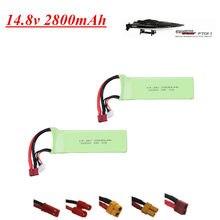Bateria lipo para ft010 ft011 2800mah 14.8 v bateria 4S 30c 803496 14.8 v para rc barco helicóptero aviões peças de reposição do carro