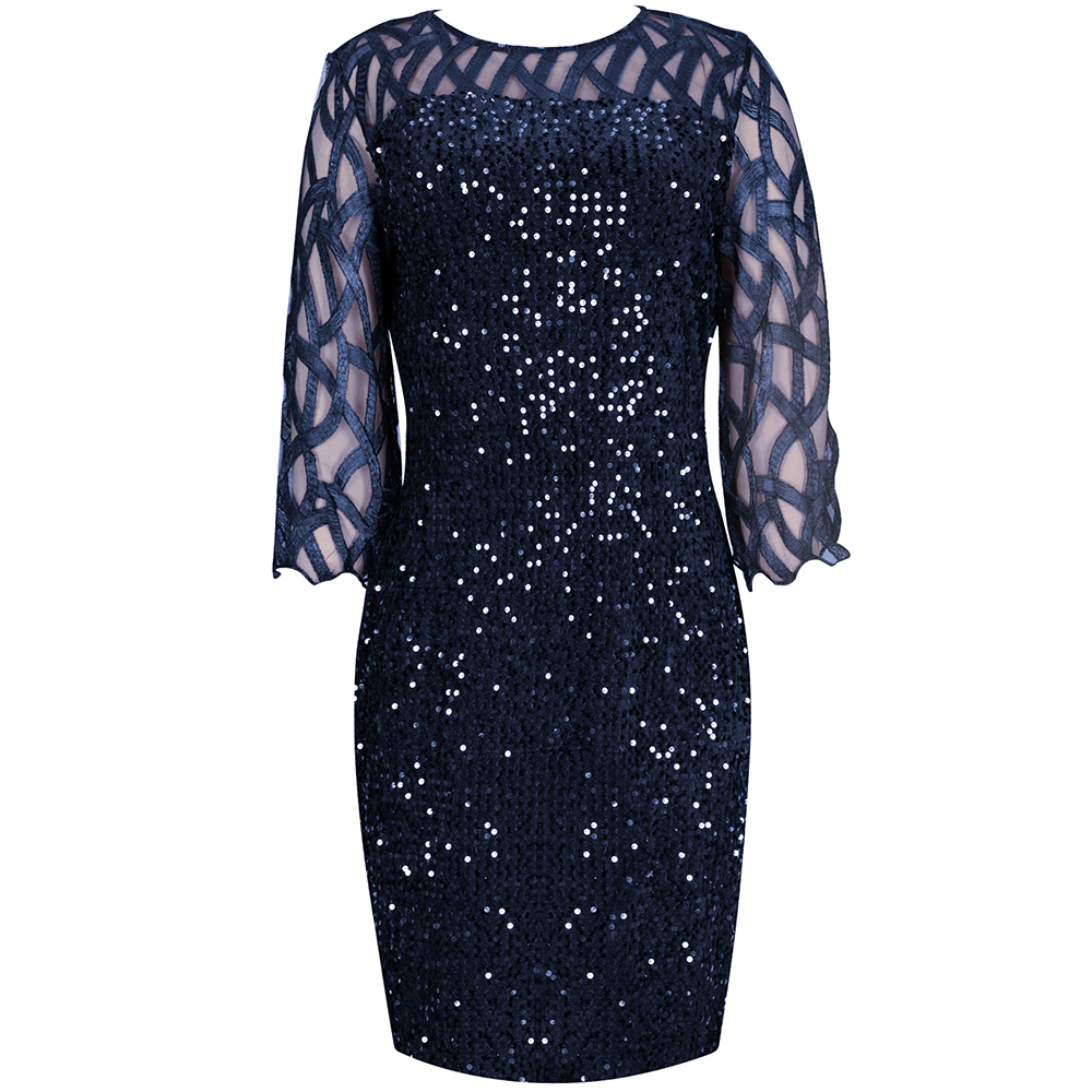 Sexy Plus Size Women's Party Dress Birthday Outfit - plus-size-dresses