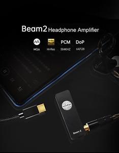 Image 3 - Hilidac Audirect Beam 2 Full MQA Rendering ESS9281C Pro DSD128 32Bit/384kHz Headphone Amplifier USB DAC Balanced 2.5mm/3.5mm