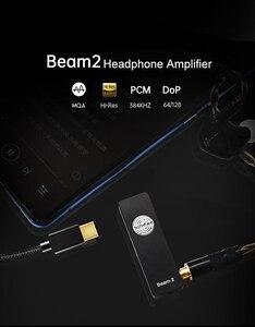 Image 3 - Hilidac Audirect Beam 2 pełne renderowanie MQA ESS9281C Pro DSD128 32Bit/384kHz wzmacniacz słuchawkowy USB DAC zrównoważony 2.5mm/3.5mm