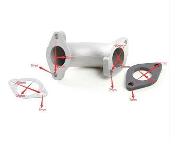 Pitbike 26mm Inlet Manifold Intake Pipe Gasket For 110cc 125cc 140cc Dirt Bike