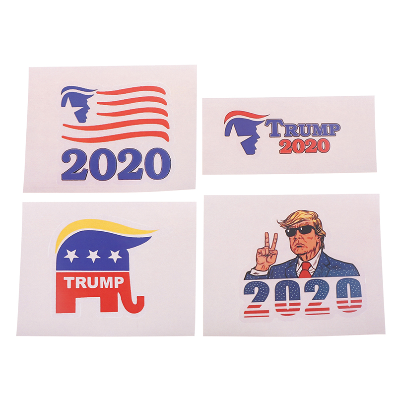 Donald J Trump President election 2016 2024 sticker decal for car truck window