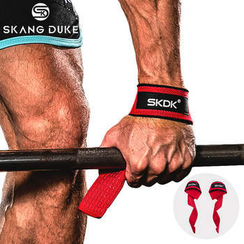 Gym Fitness Weight Lifting Hand Grips Bands Sport Dumbbell Training Wrist Support Ribbon Straps barbell Pull up oem gym weight lifting leather xrossfit training barbell pull up hand grip workout sport bodybuilding fitness hand gloves