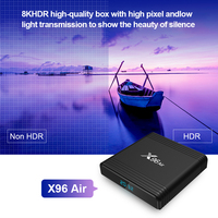 android 4 2 x96 air android 9.0 s905x3 TV Box Amlogic Quad Core 2.4&5G Dual Wifi Bluetooth Support 8K youtube google Netflix Media Player (3)