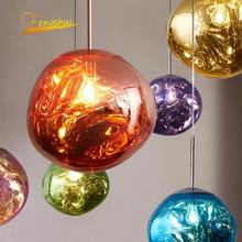 Modern LED Pendant Lights Lustre 100% PVC Lava Pendant Lamp Kitchen Hanging Lamps Bedroom Bar Europe Home Decor Light Fixtures