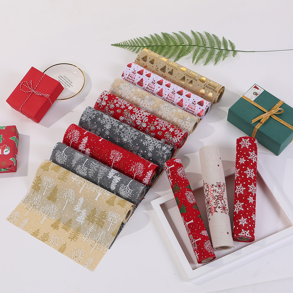Table Runner Table Flag Tablecloth For Christmas Decoration Table Flag Holiday Party Home Decor Table Cloth Party For Christmas
