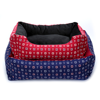 Warm Cozy Dog Bed 1