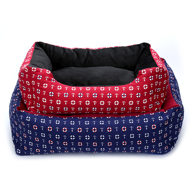 Warm Cozy Dog Bed 1