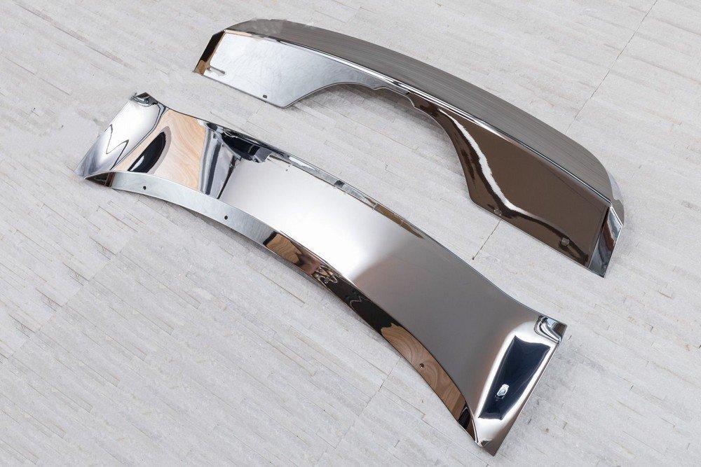 Накладки на бампер задняя+передняя BMW X5 F15 2013+ комплект (OEM Style)