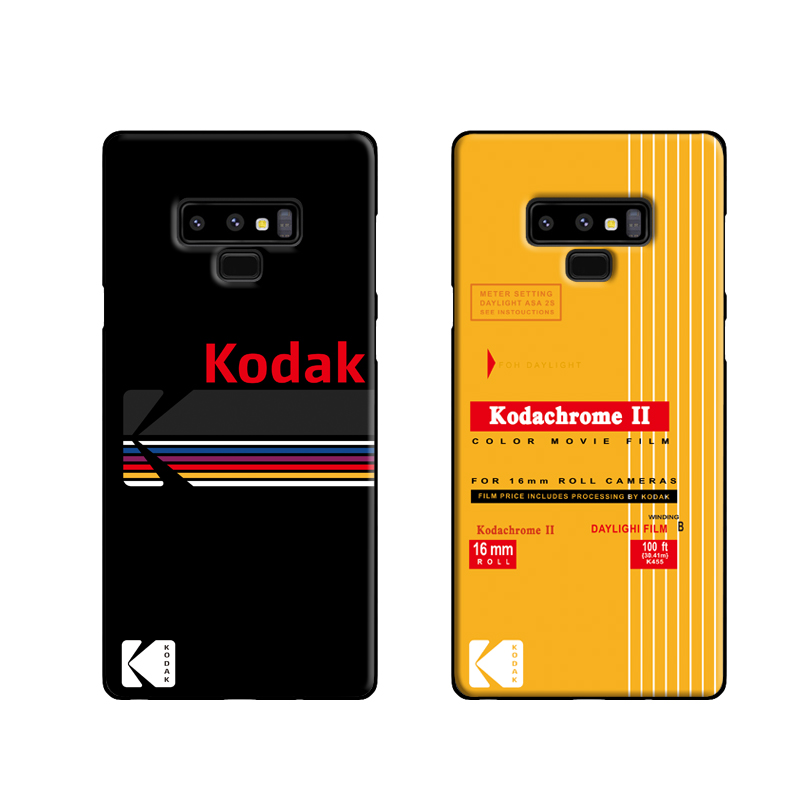 Kodak Souvenir Soft Case For Samsung Galaxy S8 S9 S10 Plus S10e Note 8 9 10 Pro Phone Cover Silicone Fashion Coque Fundas Capa