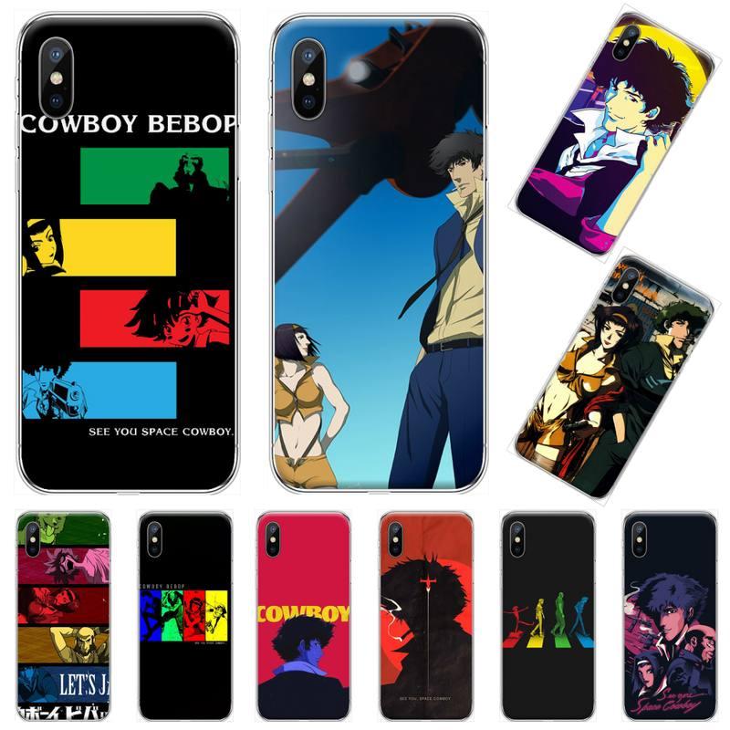 Cowboy Bebop Phone Case For iphone 12 5 5s 5c se 6 6s 7 8 plus x xs xr 11 pro max