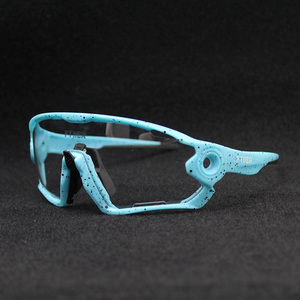 Image 2 - 2019 Color Photochromic Cycling Glasses UV400 Men MTB Bike Bicycle Riding Eyewear TR90 Outdoor Sport Polarized Sunglasses