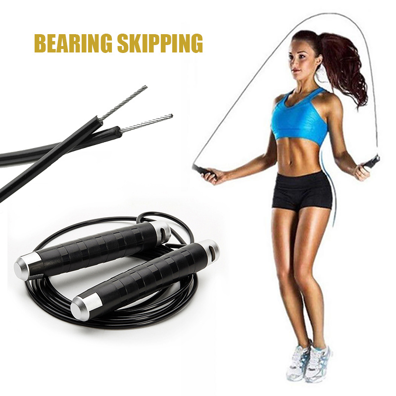 Adjustable Jumping Rope Bearing Skipping Professional Technical Jump Rop For Fitness Crossfit Training Boxing Sports Exercises