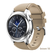 Pasek do zegarka Samsung Galaxy 46mm 42mm aktywny 2 bieg S3 Frontier huawei zegarek gt 2e 2 amazfit bip gts pasek 20 22mm pasek zegarka tanie tanio RCAT 22 cm Od zegarków Silikon Nowy z metkami for 20mm 22 mm amazfit bip gts gtr 47mm pace stratos 2 classic for garmin vivoactive 3 4 4s GT2e GT2