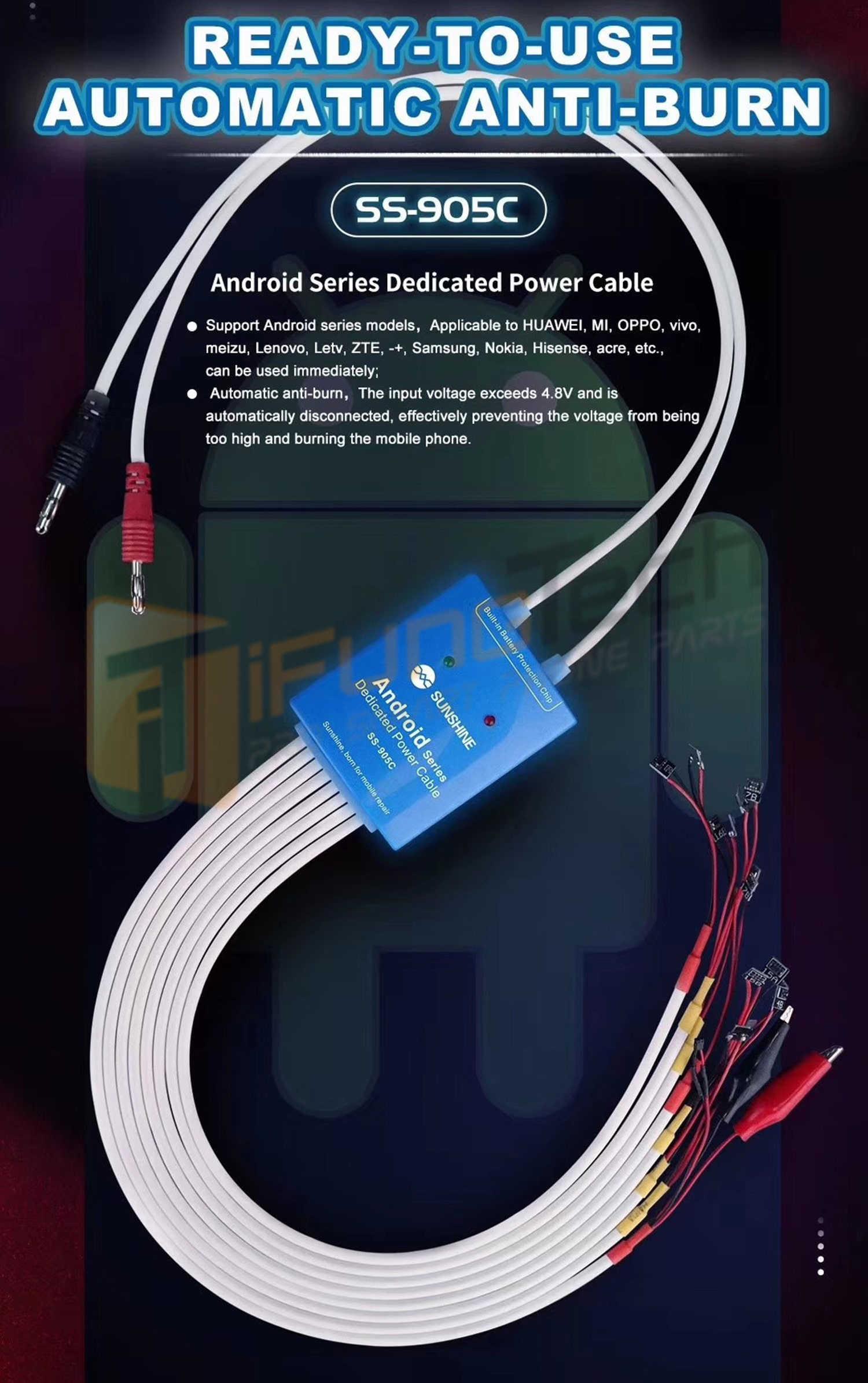 USB Printer Scanner Cable Cord Lead For HP Deskjet 990cse 990cxi 995c 1220c-ps