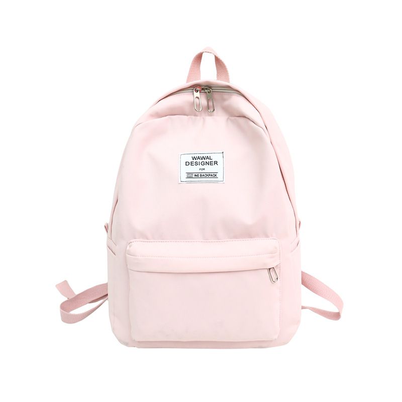 fashion women backpack simple canvas travel casual rucksacks school bags for teenage girls