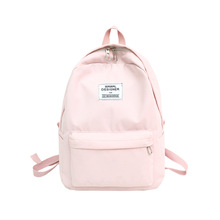 fashion women backpack simple canvas backpack travel casual rucksacks school bags for teenage girls school backpack