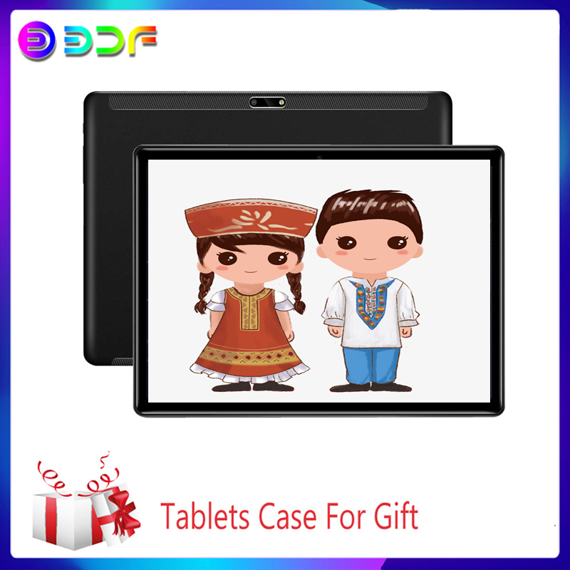 New 10.1 inch System Tablet PC 3G Phone Call Strong 6GB/64GB Dual SIM Support Wi-Fi Bluetooth Octa Core Android 9.0 Tablets