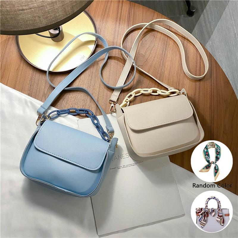 Popular Bags Ladies 2020 Bags New Summer Bags Fashion Women's Handbag Chain Strap Shoulder Bag Women