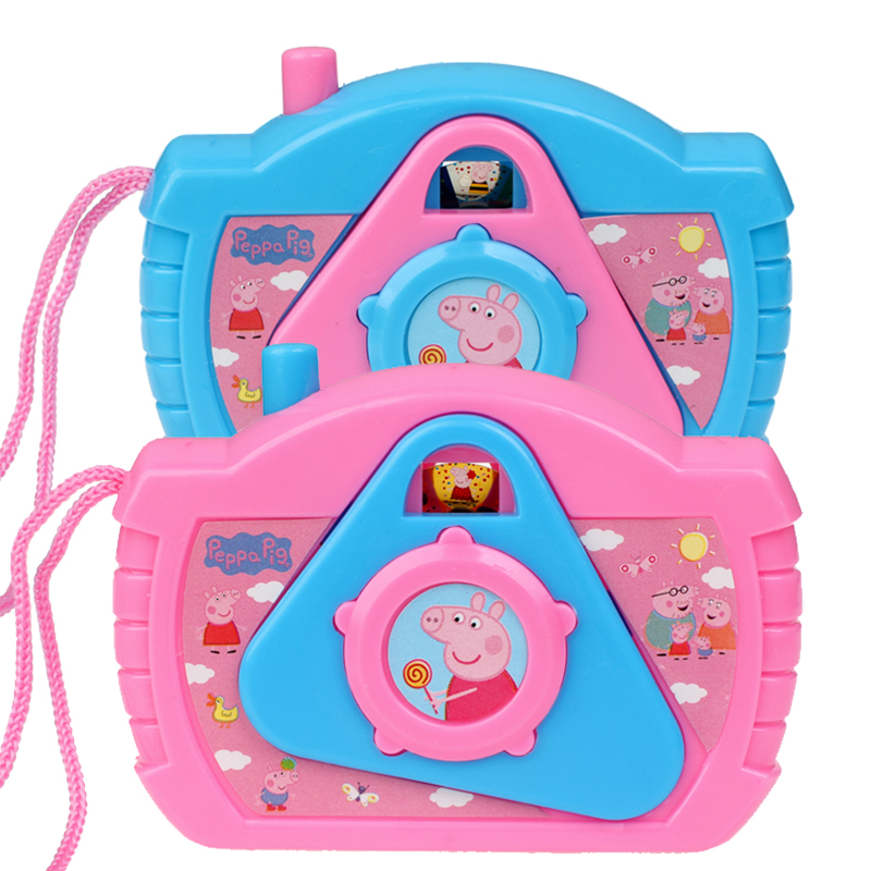 Peppa Pig Toys Simulation Camera Anime Figure George Pigs Kaleidoscope Toy For Children Cute Cartoon Children's Birthday Gifts