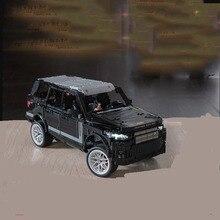 Новая радиоуправляемая мощная Функциональная Машина серии Supercar Land Rover Range Rover внедорожная модель дорожного транспортного средства строительные блоки кирпичные игрушки