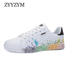 Men Shoes Casual Fashion Sneakers Spring Summer PU Leather
