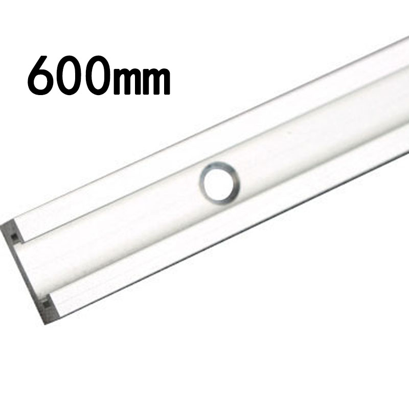 Equipment Slider Home Hardware Aluminum Alloy 400/500/600mm T Track T-Slot Miter Jig Woodworking Tool Parts Workshop