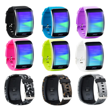 Gear S R750 Band Accessory Replacement wristband Bracelet Watch Strap Band for Samsung Gear S Smart Watch SM R750 Multi Colors