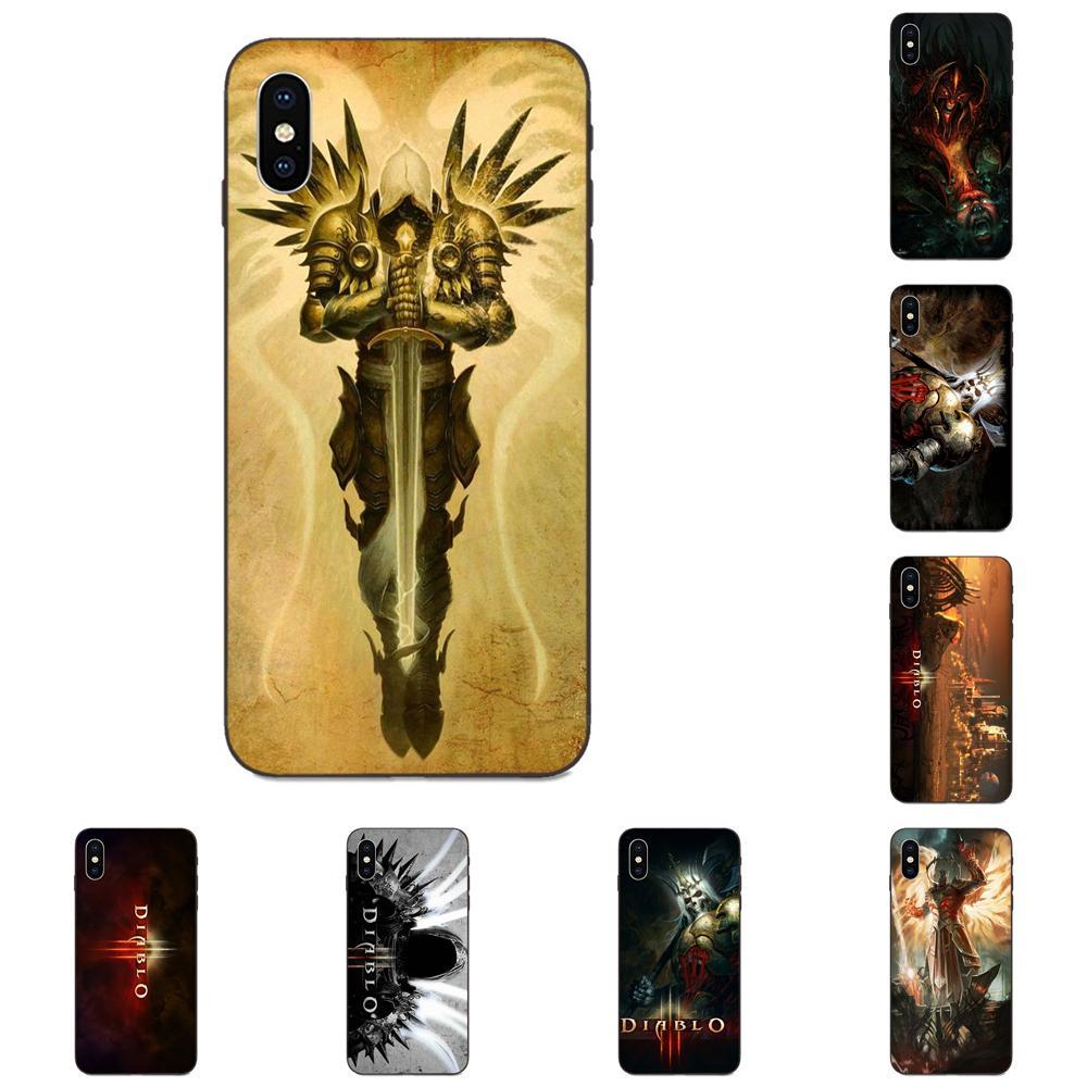 Cell Case For Xiaomi Redmi Note 3 3S 4 4A 4X 5 5A 6 6A 7 7A K20 Plus Pro S2 Y2 Y3 Diablo