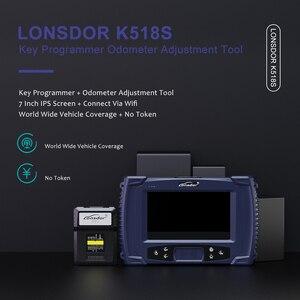 Image 5 - Lonsdor K518S OBD2 Key Programmer Odometer Adjustment IMMO Diagnostic Tool Professional Car Diagnostic Tool Key Programming Tool