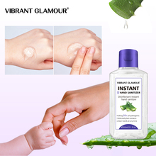 VIBRANT GLAMOUR Hand Sanitizer Gel Moisturizing Aloe Extract Deep Cleansing Nourish No Washing Natural Portable Hand Soap 60ml