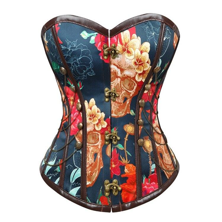 Готический винтажный карнавальный костюм формирователь тела