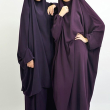 Hijab Dress Scarf Abaya Jilbab Prayer Outfit Islam Muslim One-Piece Attached Women