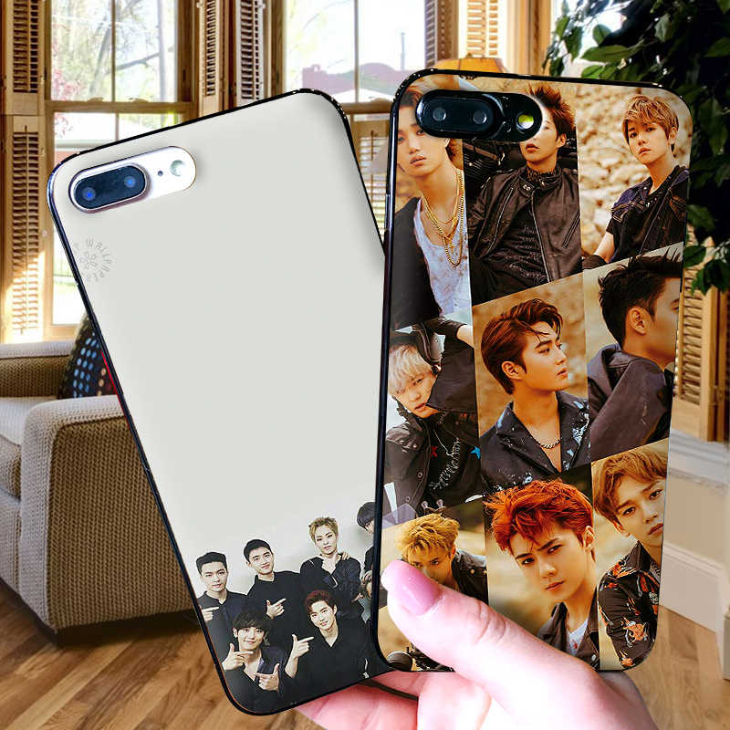 Soft Silicone Phone Case For Samsung A70 60 A50 A40 A30 A20 10 8 A9 A7 A6 Plus 2018 EXO Youth group Back Cover