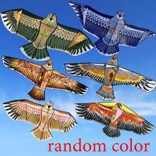 Воздушный змей дети мультфильм животные воздушные змеи 1,1 м воздушный змей в виде животного 30 м летающий шнур случайный цвет