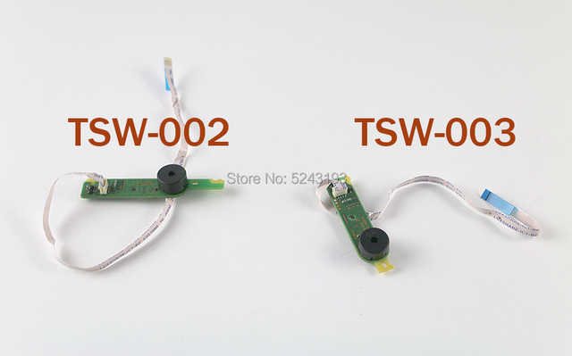 Original RF Board Power on/off Switch Power Eject Button PCB Board with Flex Cable TSW 003 TSW 002 for ps4 slim