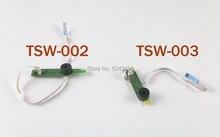 Placa de circuito impreso para ps4 slim, interruptor de encendido/apagado de placa de circuito impreso con Cable flexible, TSW 003 de TSW 002