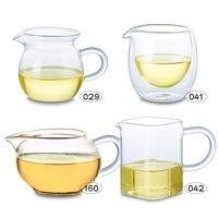 Tipos de jarro de serviço de chá de vidro claro resistente ao calor chinês gong fu cha hai|glass pitcher|clear glass pitchers|pitcher glass -