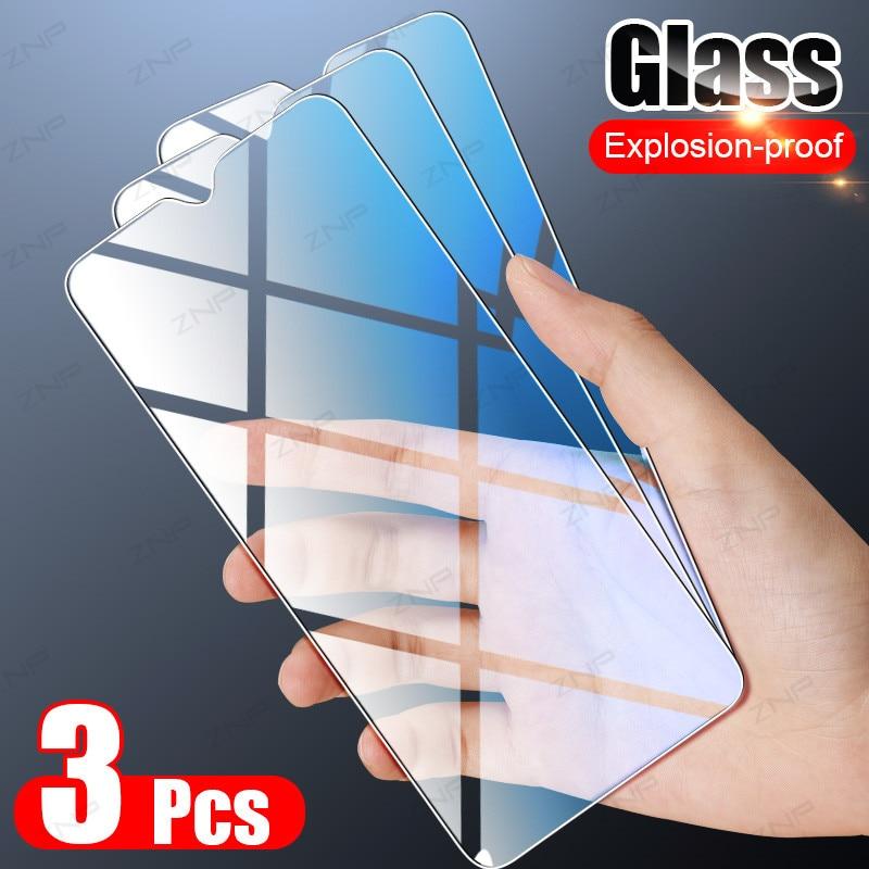 3 pçs vidro temperado para huawei p40 p30 p20 mate 10 20 30 lite p protetor de tela inteligente para honra 30s 20 10 9 lite 10i vidro