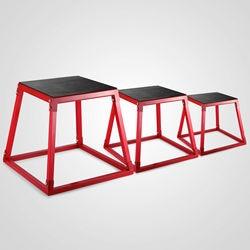 Plyometric Platform Box Set Fitness Exercise Jump Box Step Plyometric Box Jump for Exercise Fit Training