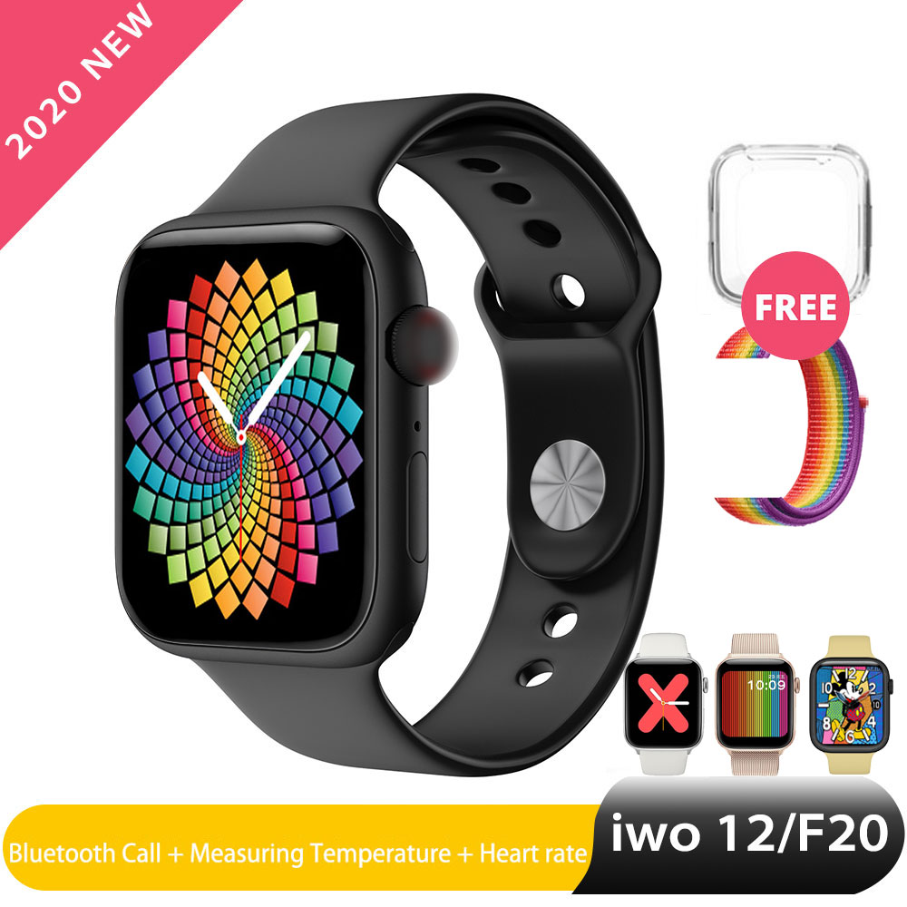 Iwo 12 Pro Smart Watch Women Man Bluetooth Calling Watch Series 5 For Apple Ios Samsung Phone Android Wear Heart Rate PK Iwo 13