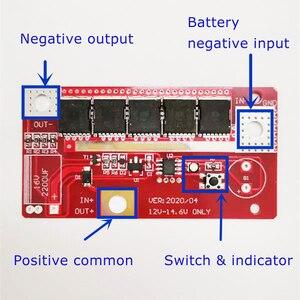 Image 2 - 1 Juego de placa de circuito 12V, máquina de soldadura por puntos para almacenamiento de batería, módulo PCB piezas de repuesto DIY para Control de vuelo RC MODELO DE Dron