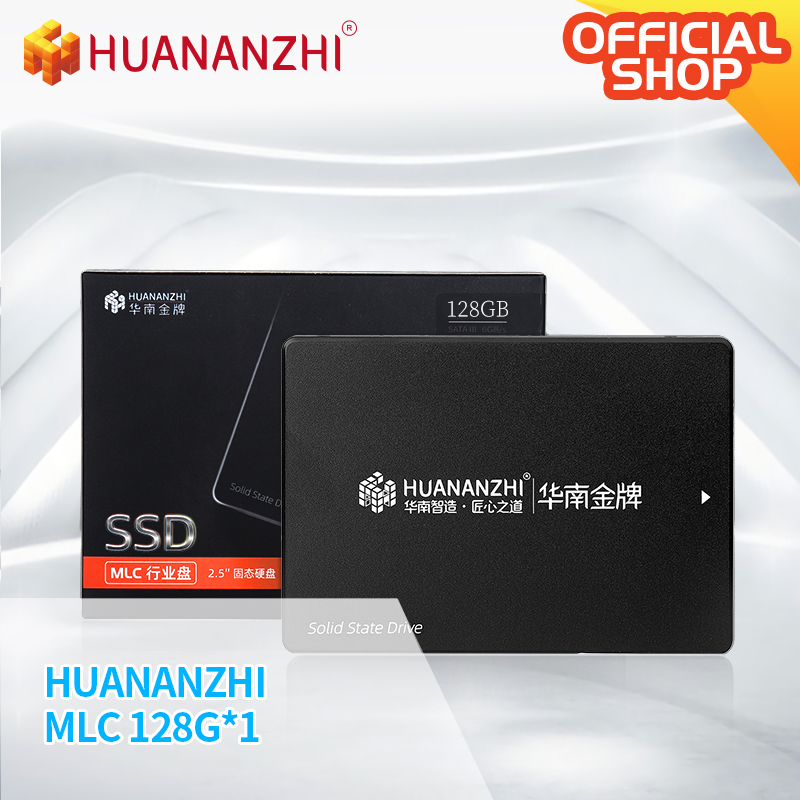 Huanzhi-disque dur interne SSD SATA MLC, avec capacité de 128 go, 256 go, 512 go, 2.5 go, 512 go, 256 go, 128 go, go, pour ordinateur portable