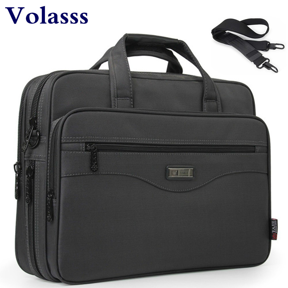 Top Quality Oxford Briefcases Men's Bag 15.6 Inch Laptop Briefcase Bags Handbag Woman Briefcase Handbags Business Bolso Hombre