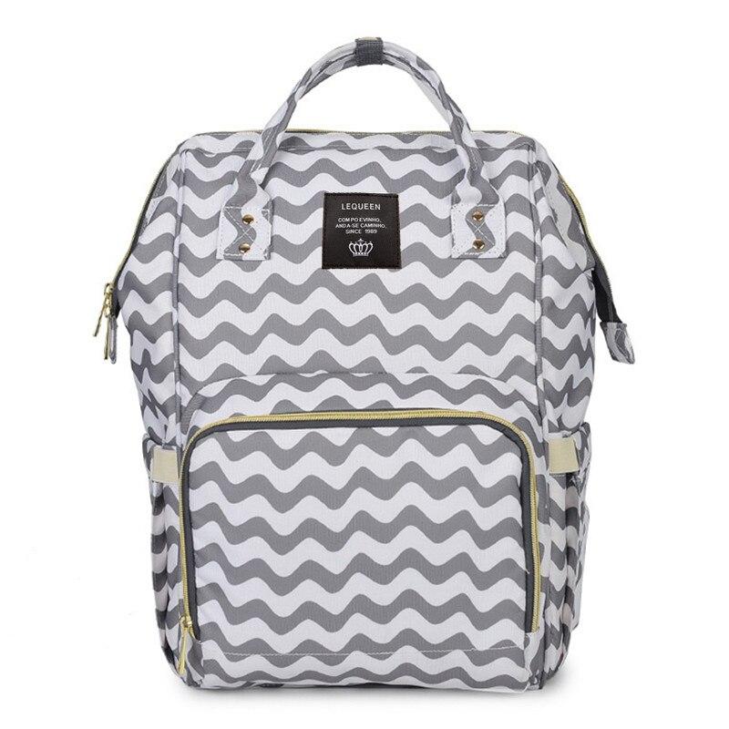 Diaper Bag Large Capacity MOTHER'S Bag Upgraded Waterproof Fashion Backpack Multi-functional Diaper Bag Pregnant Women Bag