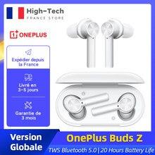 Tout nouveau OnePlus bourgeons Z sans fil écouteur TWS Bluetooth 5.0 IP55 20 heures d'autonomie pour OnePlus 8T Nord 8 Pro N10