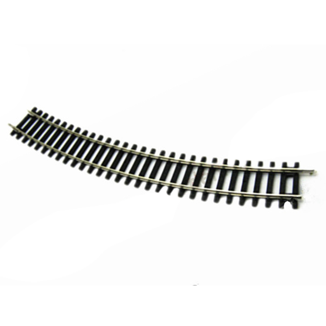 1:87 HO Scale R2 30 Degree Curved Track With Or Without Roadbed And Bolt Set For Train Model Building Kit 2019 New- Black
