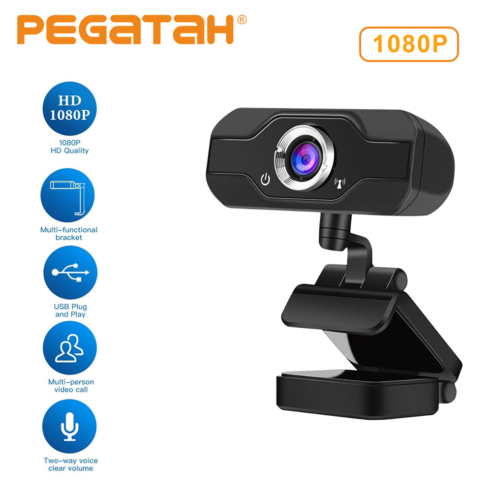 1080P  Webcam With Microphone Web Camera 4k Web Cam Web Camera With Microphone Webcam Web Camera 1080P For Computer  Usb Cameras
