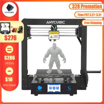 ANYCUBIC Mega S drukarka 3D I3 Mega Upgrade DIY pełna metalowa rama Impresora ekran dotykowy tft wysokiej precyzji drukarki 3d wytłaczarki tanie i dobre opinie 110℃ PLA ABS TPU HIPS WOOD Cura smplify3D Repetier-HOST 110V 200V AC 50 60Hz 110-220 V STL OBJ DAE AMF 210*210*205